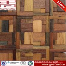 300x300mm Bodenfliese gemischt Holz Design Holz Mosaik Farbe