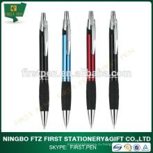 Рекламная выдвижная ручка с резиновой ручкой