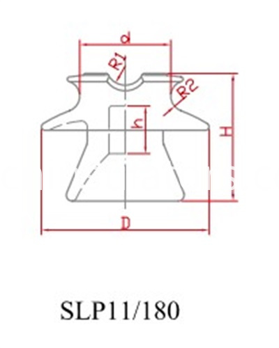 SLP11-180 pin insulator