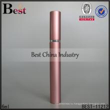 Шанхай лучшие 6 мл духи спрей бутылки розовый ручка духи распылитель насос спрей бутылки дух с алюминиевой крышкой