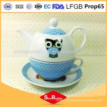 wholesale porcelain Ceramic teapot animal heated