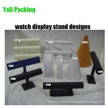 Cuero PU Tiers Watch Display Stand Designs (serie JS)