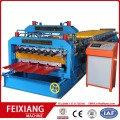 Lembaran Logam Roofing Double Layer Making Machine