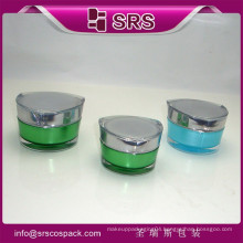 China New Products Wholesale Jar And Plastic Container Manufacturers And 30g 50g Empty Acrylic Unique Cosmetic Line Packaging