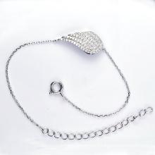 Bracelets à bijoux en zircon cubique en argent 925 (K-1752. JPG)