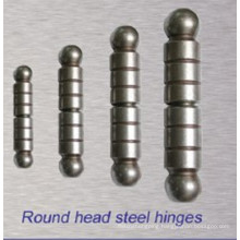 2016 Rsh 001popular Hardened Round Head Steel Hinge