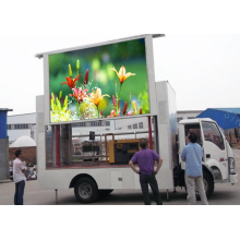 Outdoor Mobile LED Display Truck Vehicle Screen