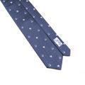 Laço barato à moda formal do às bolinhas da gravata