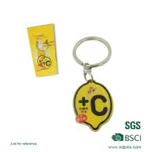 Maßgeschneiderte Metall Schlüsselanhänger mit Firmenlogo (xd-0902)