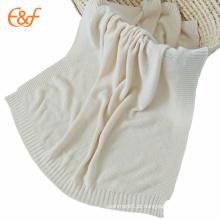 Manta de algodão macio e luxuoso de luxo para o outono