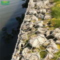 Bentuk Hexagonal Hole dan Gabions Application Gabion Wall