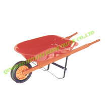 wooden handle, 10L plastic tray, kid's wheelbarrow WH0201-I