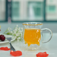 Fancy High Borosilicate Juice Mug