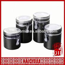 High borosilicate glass jar