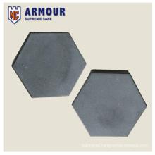 Hexagon silicon carbide tile