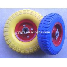 pu foam rubber wheels 4.10/3.50-4