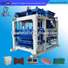 Seme-automatic Medium Brick Machine Price Used To Blind Lanes, Road, Square
