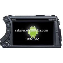 Fabrik direkt! Android 4.2 Touchscreen Auto DVD GPS für Ssangyong Kyron + Dual Core + OEM + Glanoss + 1024 * 600touch Bildschirm