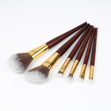 Ensemble de 6 pinceaux de maquillage synthétiques