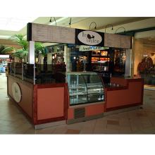 Intérieur café kiosque pour le supermarché