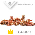 EM-F-B213 Short copper coupling pipe fitting