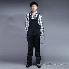 Safety 65% Polyester 35%Cotton Long Sleeve Bib and Brace Workwear Overall (BLY4001)