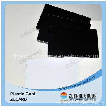 Tarjeta de PVC transparente Tarjeta de plástico