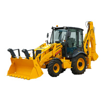 liugong CLG777 CLG777A mini excavator towable backhoe loader