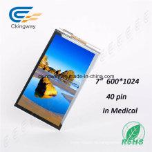 7 '1024 * 600 durchlässiger Touch Screen Monitor