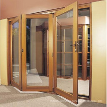 High Quality Tempered Glass Folding Door
