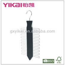 Деревянная вешалка для галстука с 20 стойками для галстука