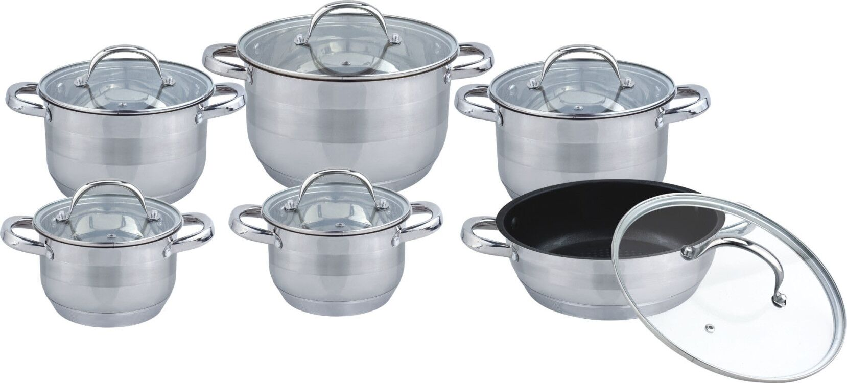 Straigt shape cookware set
