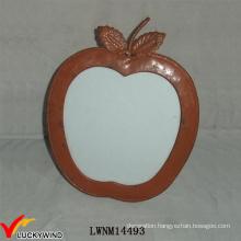 Metal Handmade Table Standing Apple Shape Photo Frame