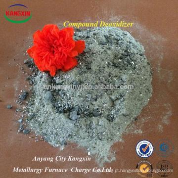 Pó composto do desoxidante usado na carcaça do ferro como um agente de desoxidação