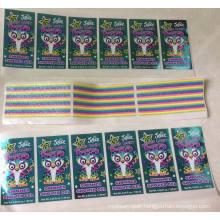 Plastic Sticker/ PVC Sticker / Color Sticker