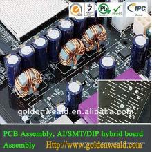 assemblage de carte PCB en aluminium Service de fabrication sous contrat pour tableau de bord