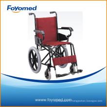 Grande qualité et prix en aluminium de fauteuil roulant (FYR1105)