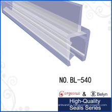 Glass Door Bottom Transparent PVC Cover Seal Gluco Strips Roll