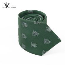 Kundenspezifische glatte Geschäfts-Mann-Bindung handgemachte Krawatte
