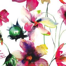 Impresión Digital de la flor del poliester tela de la ropa