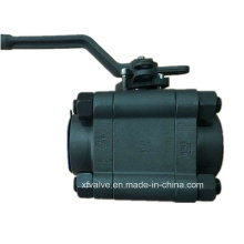 ANSI Forged Carbon Steel A105 Thread End NPT Ball Valve