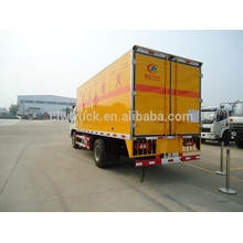 2015 china new Foton 4x2 explosion-proof car,small detonators truck