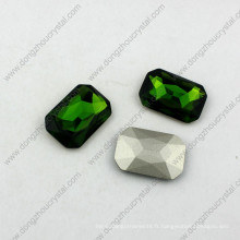 13 * 18mm octogone cabochon pierre de fantaisie en pierre de fantaisie de pierre de cristal fantaisie pour la fabrication de bijoux