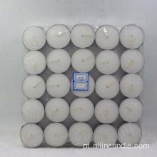 Velas Tealight Unscented Conjunto Branco de 100