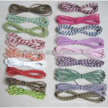 Cuerda de papel de embalaje colorido, papercord