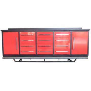 Горячие Продажи Гаража Ящик Металлический Верстак С 2 Шкафами