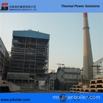 220 T / H Pakistan Local Coal Fired CFB Boiler