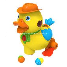 Lustiges gelbes Entlein Musikinstrument Spielzeug