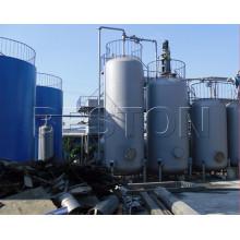 Máquina de destilación de la máquina de reciclaje de aceite de motor de alto beneficio y bajo riesgo para la venta