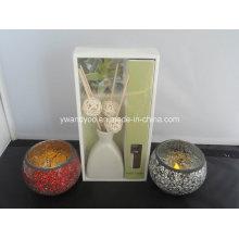 Aroma Reed Diffuser + Mosaik Kerzenständer